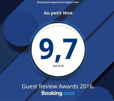 logo image awards booking au petit nice 2016